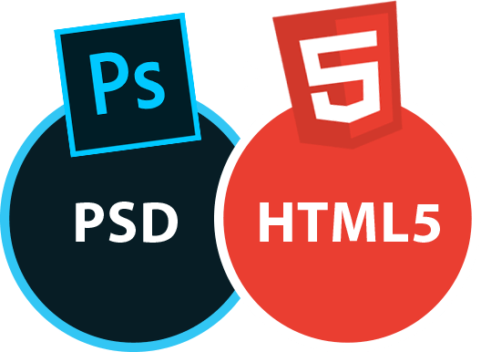 PSD to html - development services